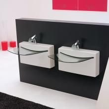 Lavabo Crystall Wall