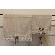 Set 2 Asciugamani Romantic