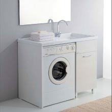 Mobile porta lavatrice con lavatoio 106x60 Medusa