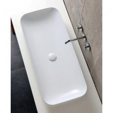 Lavabo semincasso/appoggio cm 90 Soft Elegance