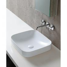 Lavabo semincasso/appoggio cm 45 Soft Elegance