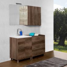 Composizione bagno/lavatoio terra Unika 135