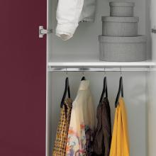 Colonna lavanderia con due ante e due appendi biancheria Colf