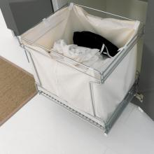 Colonna lavanderia con due ante, tavolo e cesto biancheria estraibile Colf
