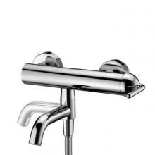 Miscelatore per vasca esterno completo di accessori doccia Franciacorta