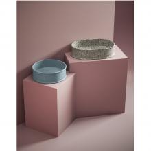 Lavabo appoggio tondo diam.44 cm Atelier Marmi & Graniglie