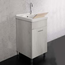 Lavatoio 45x50 cm con vasca in ceramica Unika