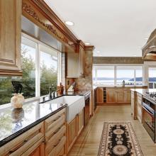 Lavello da cucina appoggio/semincasso Lake