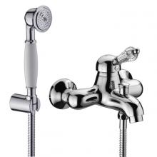 Miscelatore esterno per vasca completo di accessori doccia Diamante