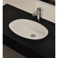 Lavabo Sottopiano Oval 105