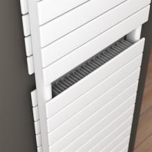 Radiatore termoarredo doppio con convettore L500 mm Plain