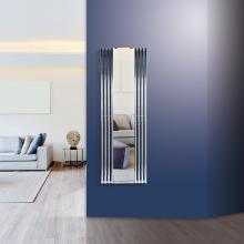 Radiatore termoarredo idraulico con specchio H1800x600 mm Tubon Espejo