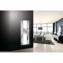 Radiatore termoarredo idraulico con specchio H1800x600 mm Marcelo Espejo
