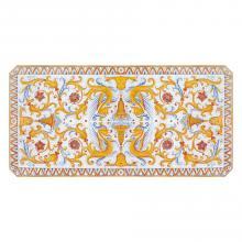 Tavolo in pietra lavica rettangolare Raffaello Pieno