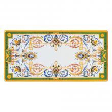 Tavolo in pietra lavica rettangolare Michelangelo