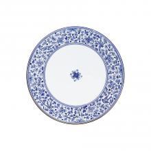 Tavolo in pietra lavica tondo Arabesco Blu