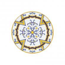 Tavolo in pietra lavica tondo Monaco Blu