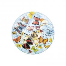Tavolo in pietra lavica tondo Butterfly