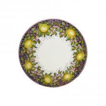 Tavolo in pietra lavica tondo Limoni Toscani