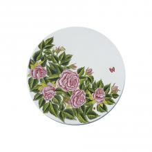 Tavolo in pietra lavica tondo Rose