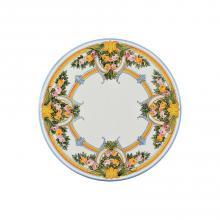 Tavolo in pietra lavica tondo Rose Antiche