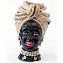 Testa di Moro modello Naomi Africa N01