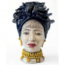 Testa di Moro modello Naomi Africa N02