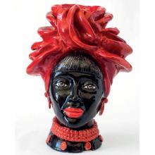 Testa di Moro modello Naomi Africa N04