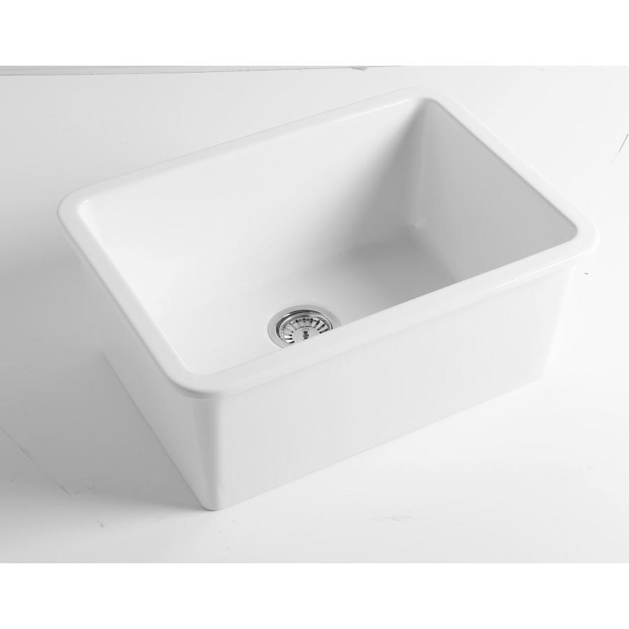 Lavello In Ceramica Da Cucina lavello da cucina semincasso/incasso barrel | disegno ceramica