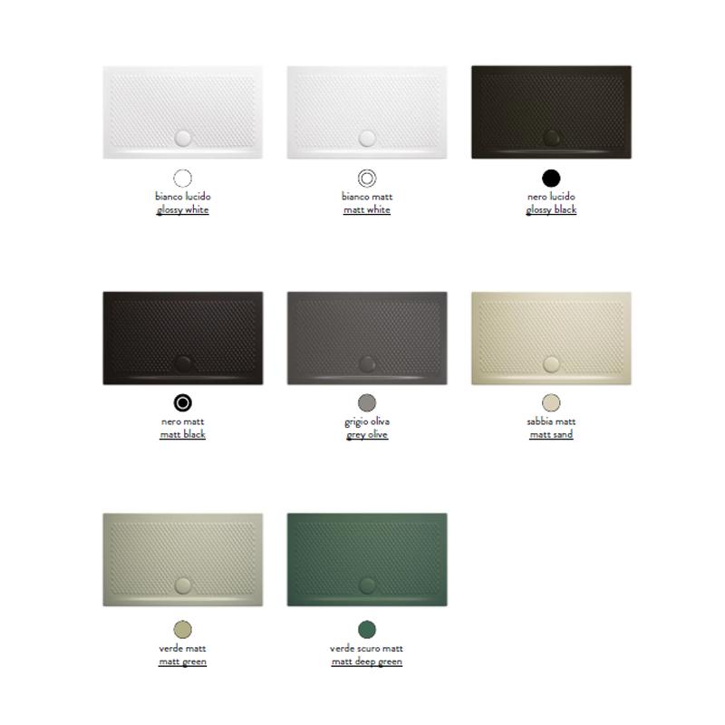Hidra Ceramica Piatto Doccia.Piatto Doccia Texture Rettangolare 80x100xh5 Hidra Ceramica