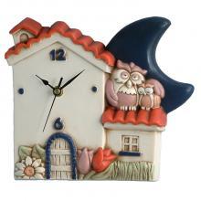Orologio Casa e Gufi