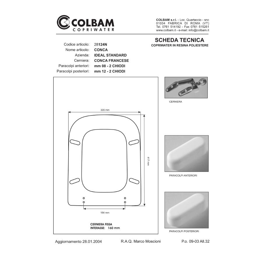 Copriwater Conca