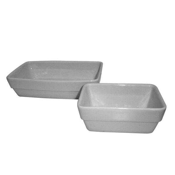 Vaschetta Rettangolare Bianco/Bianco