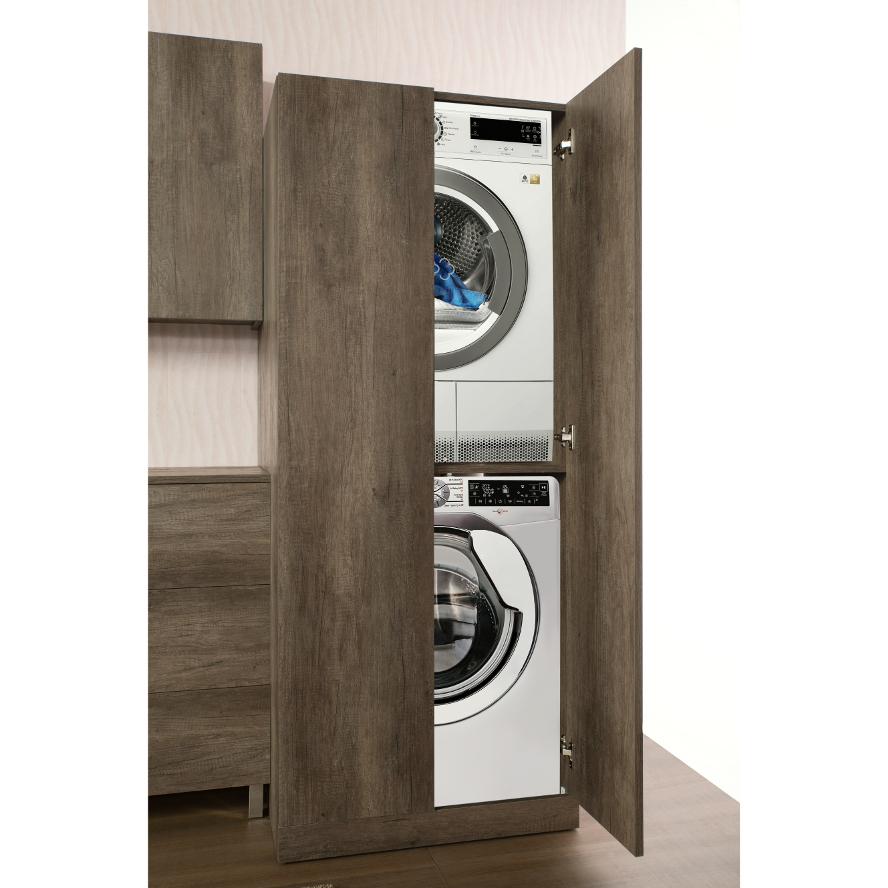 Colonna Per Lavatrice E Asciugatrice mobile bagno / lavanderia colonna lavatrice/asciugatrice unika - 3 colori  disp. | ebay