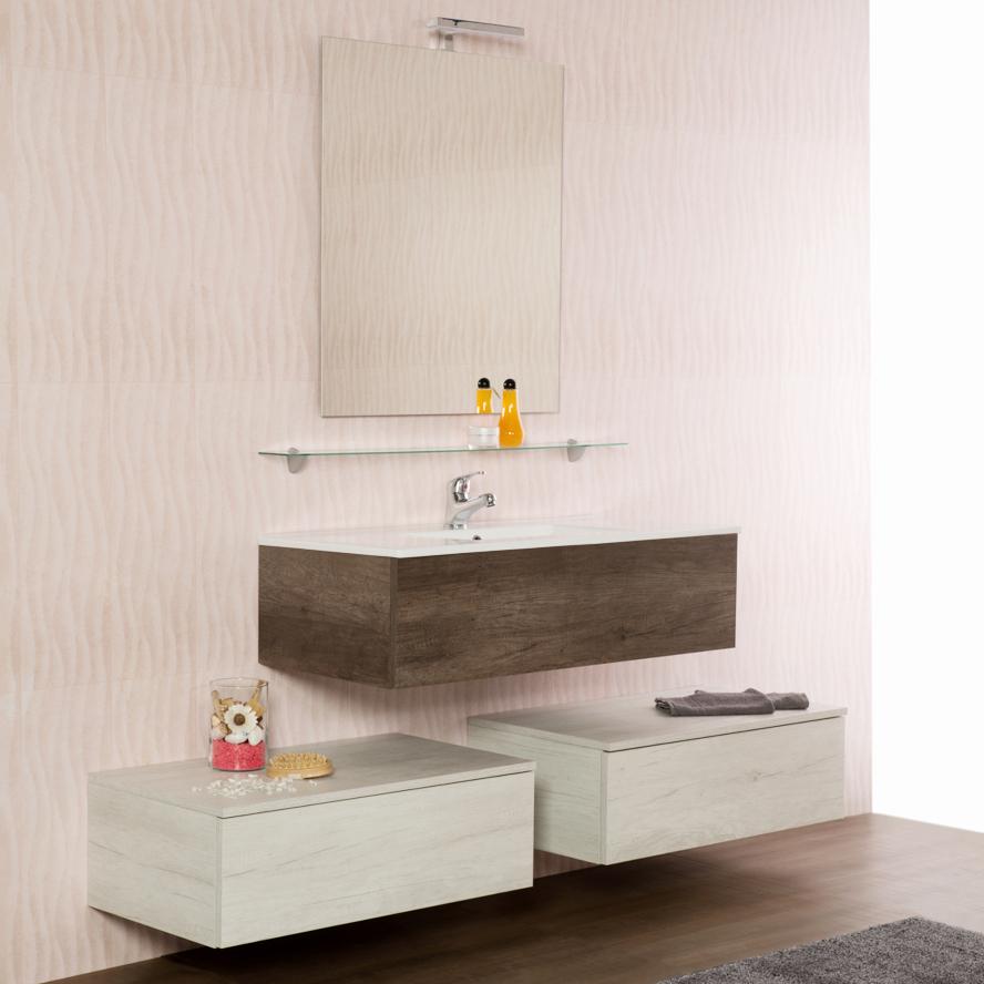 Composizione bagno sospesa cm 170 Unika