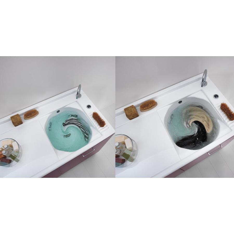 Coprilavatrice con bocchette e vasca dx 130x65xH89 Active Wash