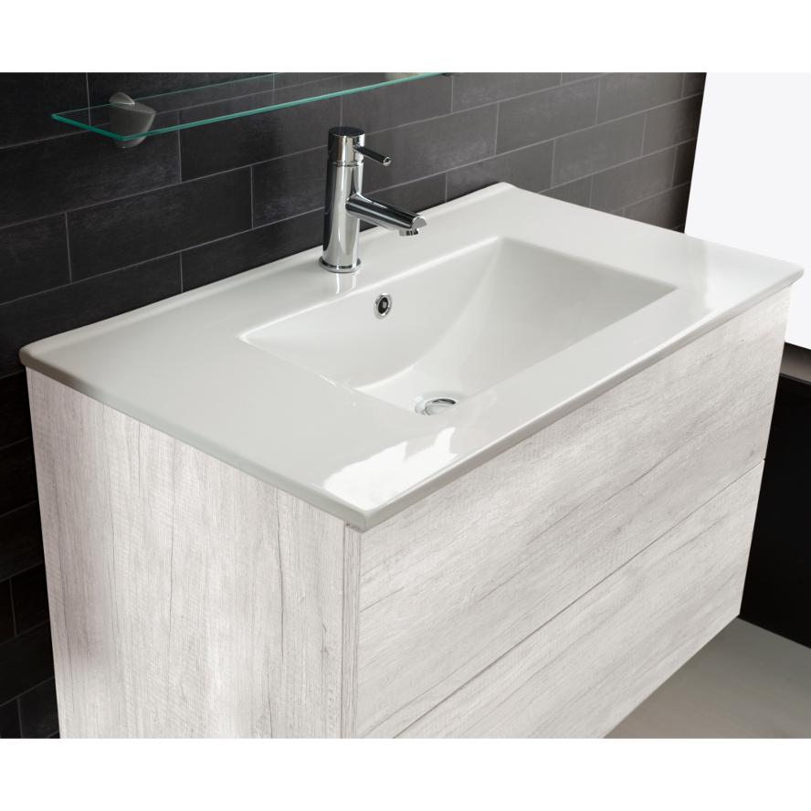 Lavandino lavabo bagno design full da incasso in ceramica for Lavandino design