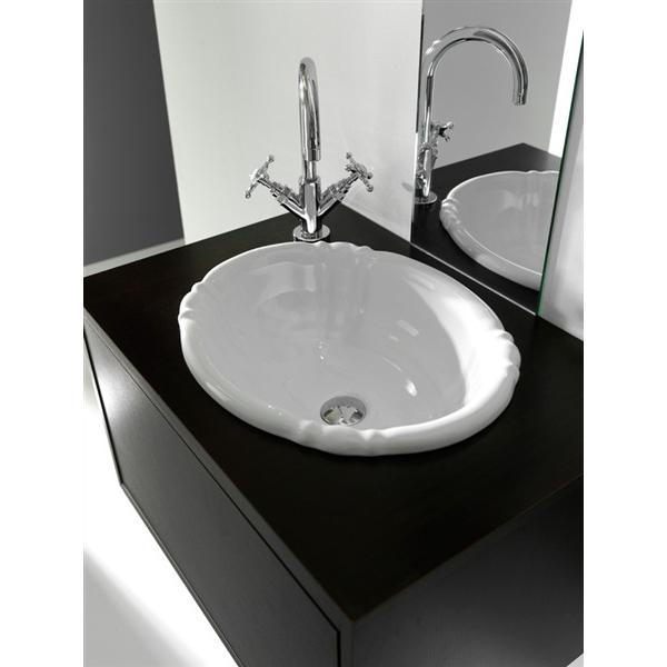 Lavandino lavabo da incasso bagno modello old england in - Lavabo da incasso bagno ...