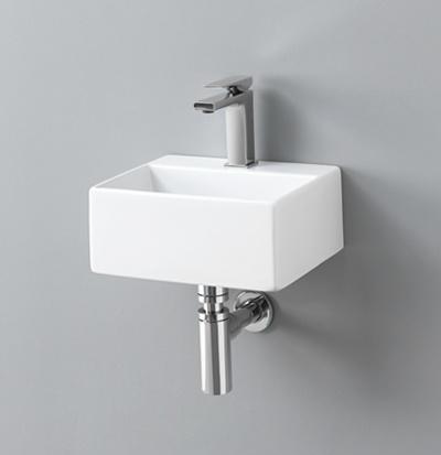 Lavabo Appoggio/Sospeso Quadro Mini