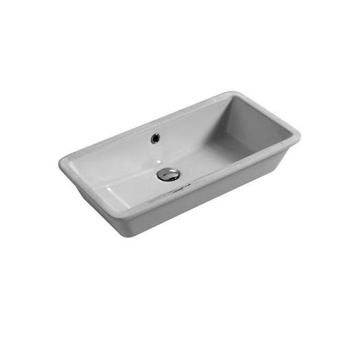 Lavabo Sottopiano cm 65x34 Rio