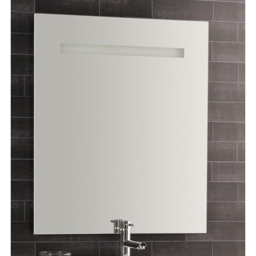 Specchio Per Lavandino Angolare dettagli su bagno specchio verticale filo lucido con led frontale 70x74 cm