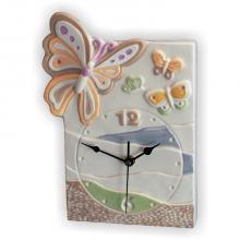 Orologio Rettangolare Farfalla 22x30 cm