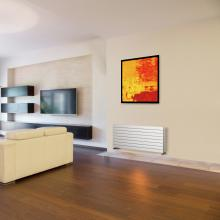 Radiatore termoarredo idraulico singolo H292 mm Plain Horizontal