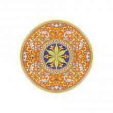 Tavolo in pietra lavica tondo Deruta Antico