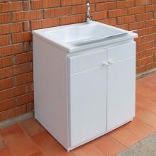 Lavatoio con mobile da esterno cm 60x50xH84 Zeus
