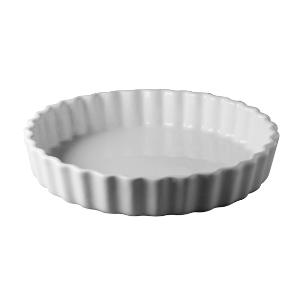 Tortiera Coste Bianco/Bianco