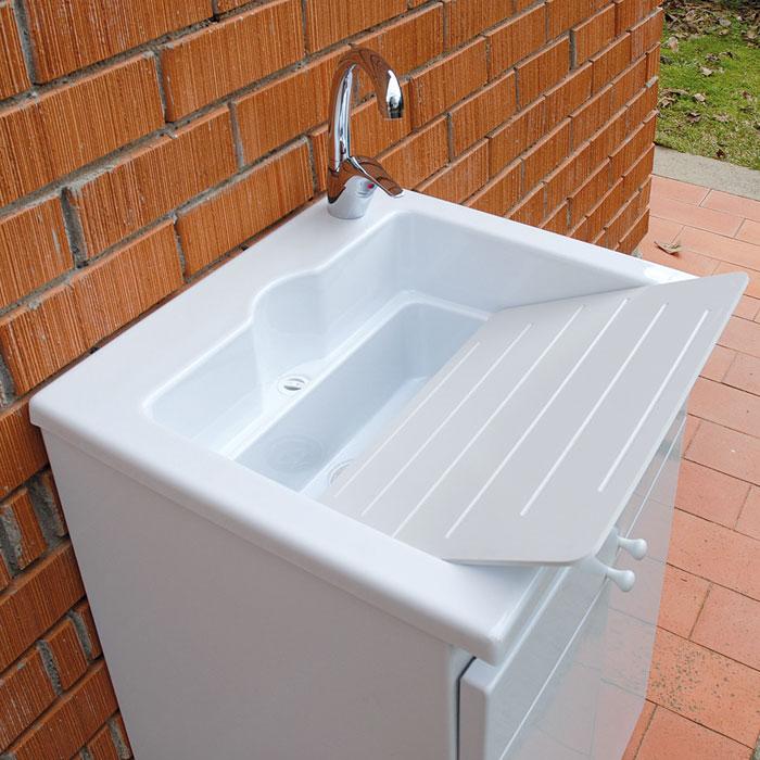 Lavatoio con mobile da esterno zeus lmc srl - Mobile da esterno ...
